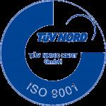 Abbildung des ISO 9001 Zertifikats von Import Consultants