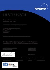 ISO DIN EN 9001 Zertifiziert